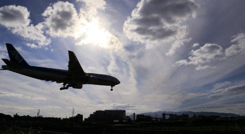 航空機騒音実習
