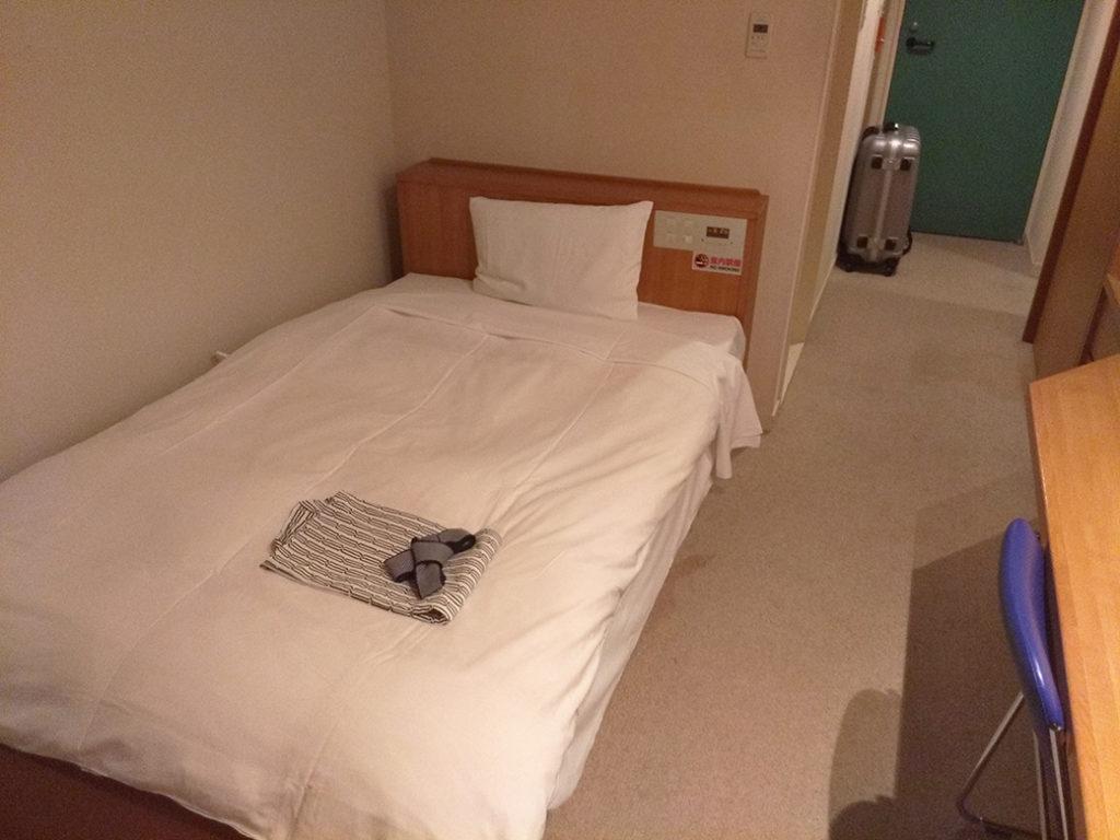 さくら館 C棟部屋 ベッド
