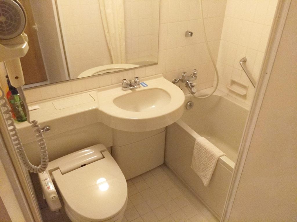 さくら館 C棟部屋 バス、トイレ