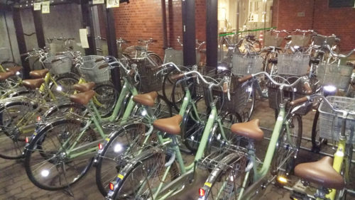 さくら館 自転車貸し出し