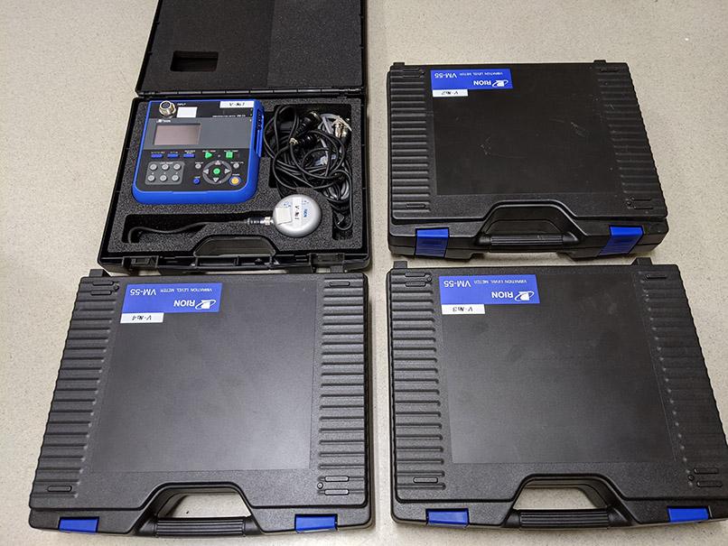振動レベル計 VM-55